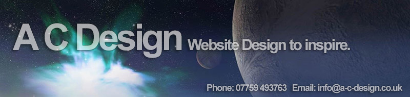 A C DESIGN . WEBSITE DESIGN . GRIMSBY . NORTH EAST LINCOLNSHIRE . PHONE: 07759 493763
