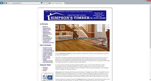 SIMPSONS TIMBER GRIMSBY